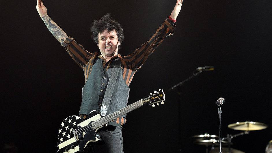 Snímek z koncertu Green Day