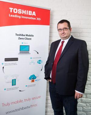 Tomáš Konečný, Sales Manager společnosti Toshiba