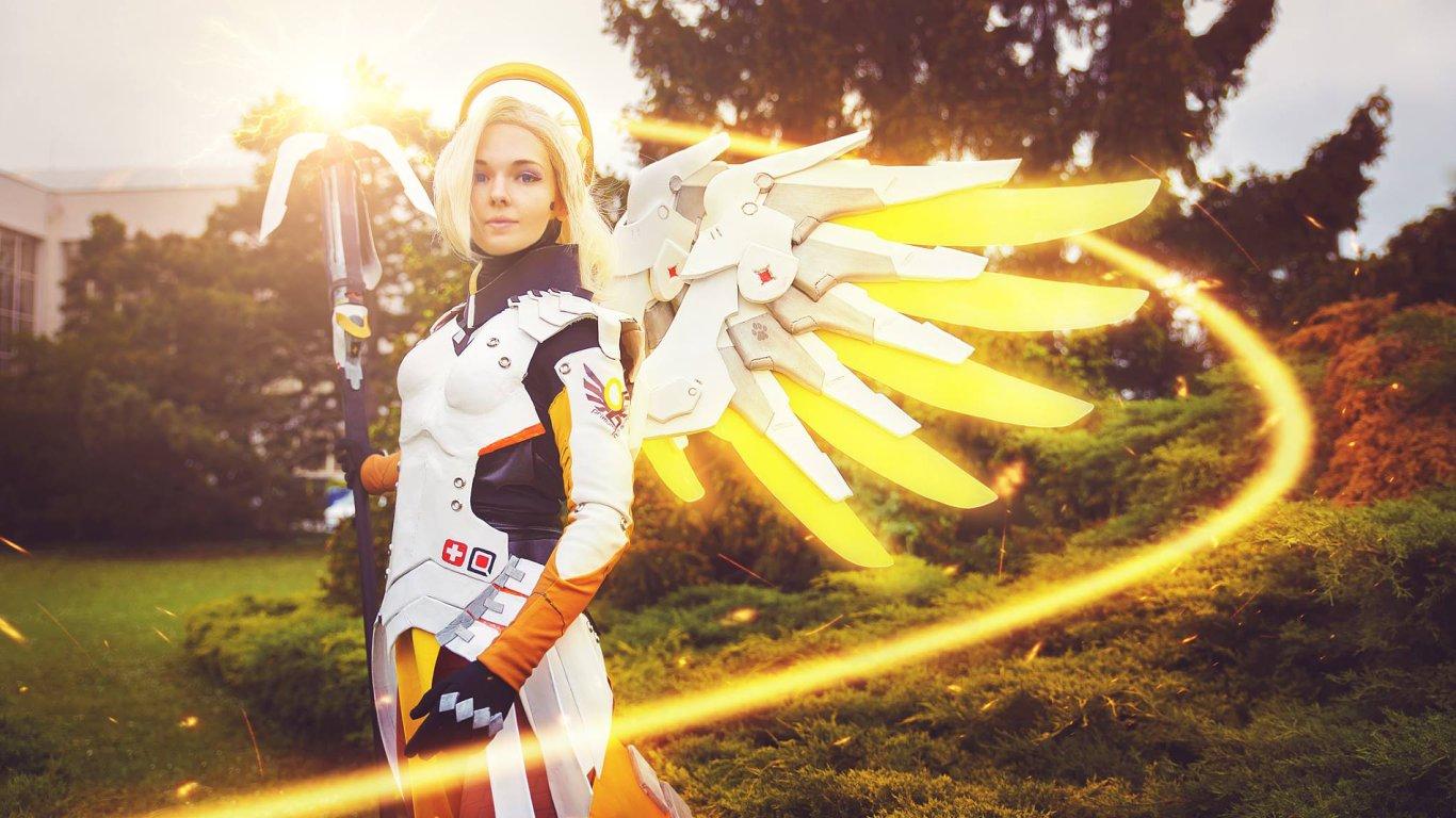Mercy, postava ze hry Overwatch