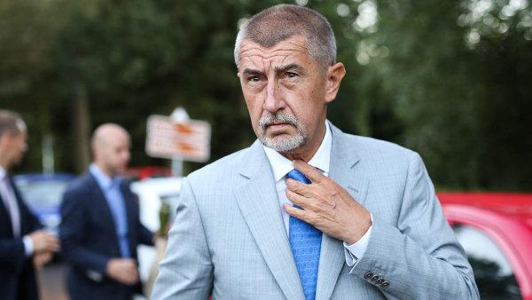 """""""Česká ekonomika je na tom podstatně líp než slovenská,"""" tvrdí Andrej Babiš."""