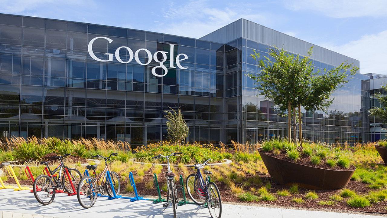 Budova, centrála Google - ilustrační foto