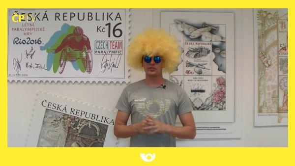 YouTube kanál České pošty