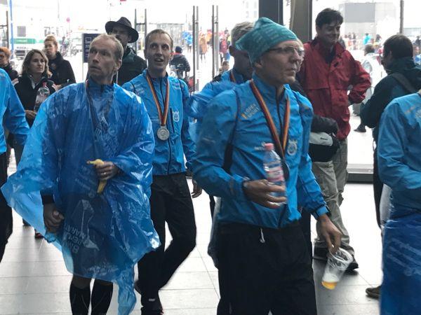 německo, maraton