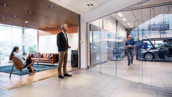 Volvo představilo novou koncepci svého servisu.