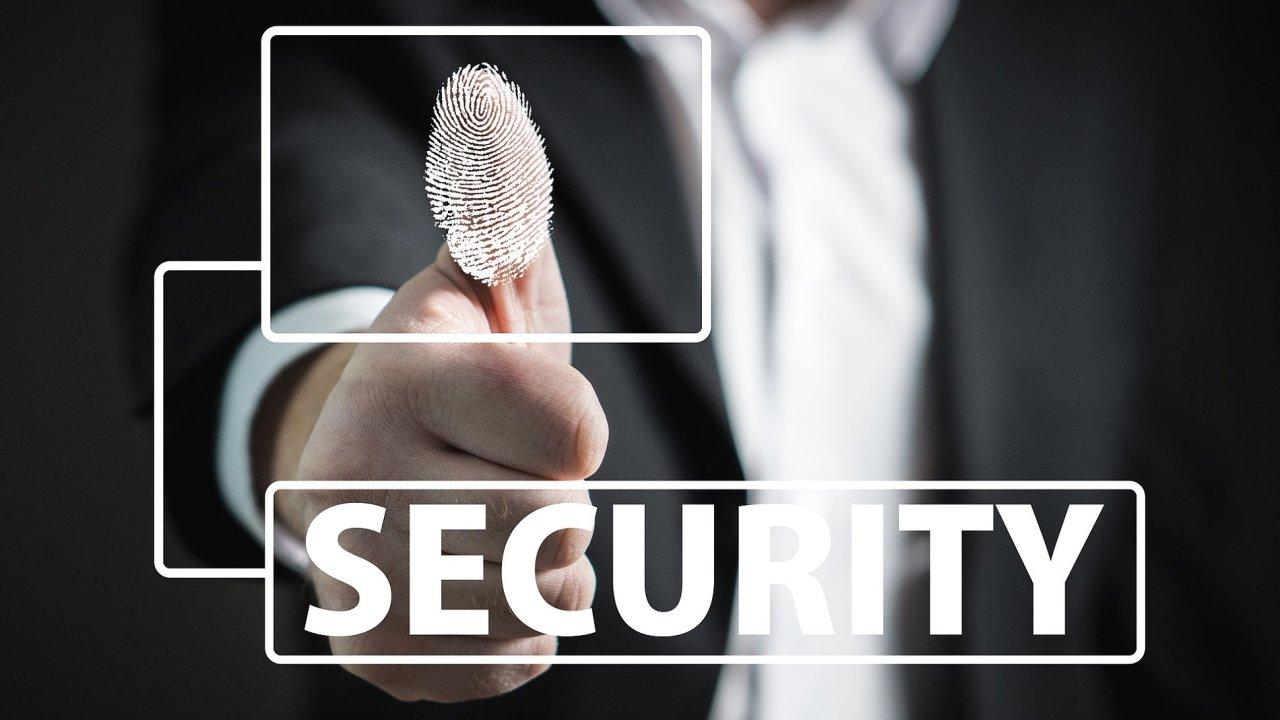 Bezpečnost osobních údajů, ilustrace