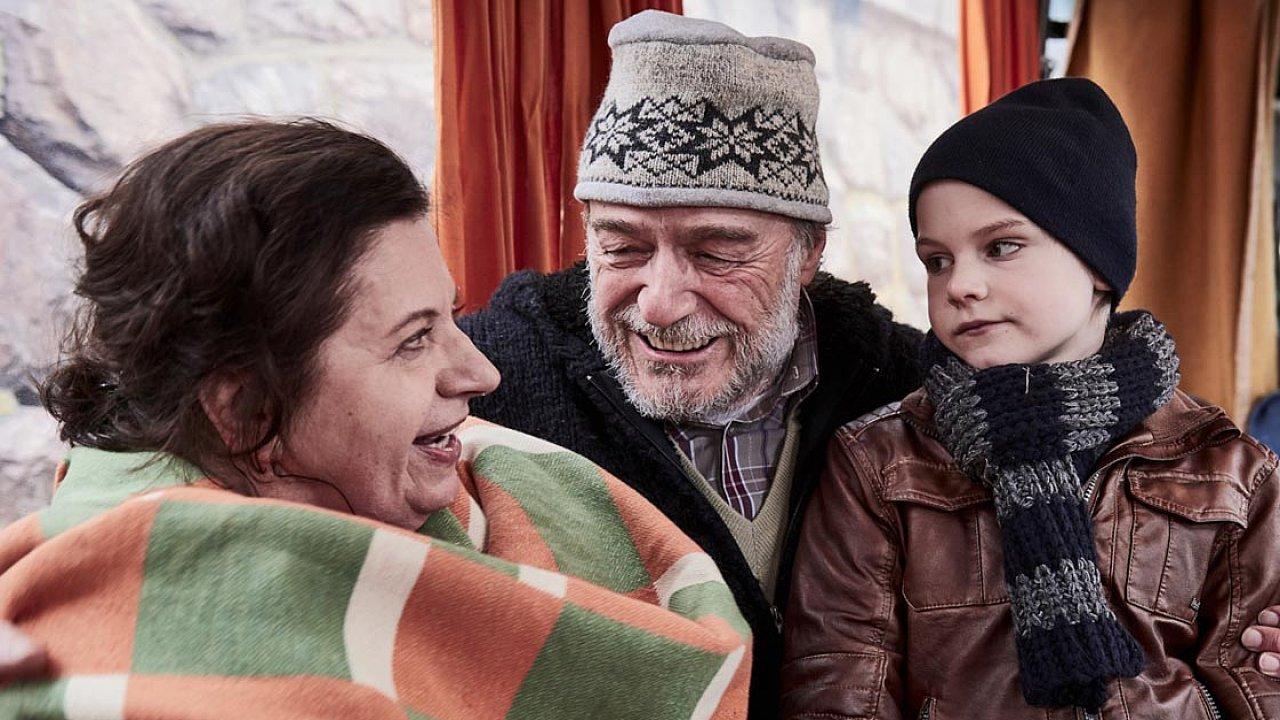 Snímek z filmu Bába z ledu.