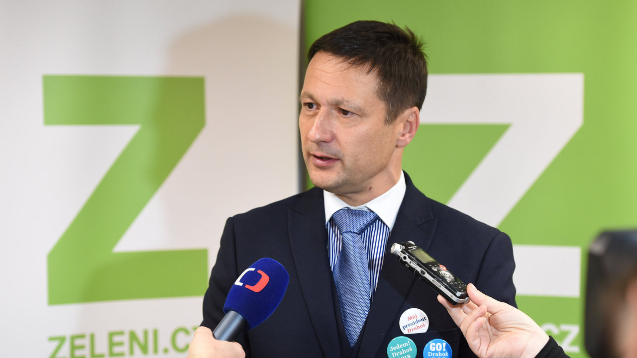 Předsedou Zelených se stal Petr Štěpánek.