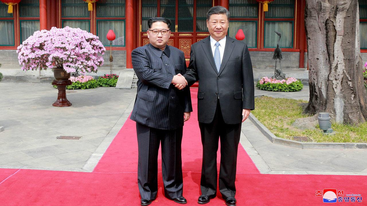 kim čong-un v číně,  Si Ťin-pching