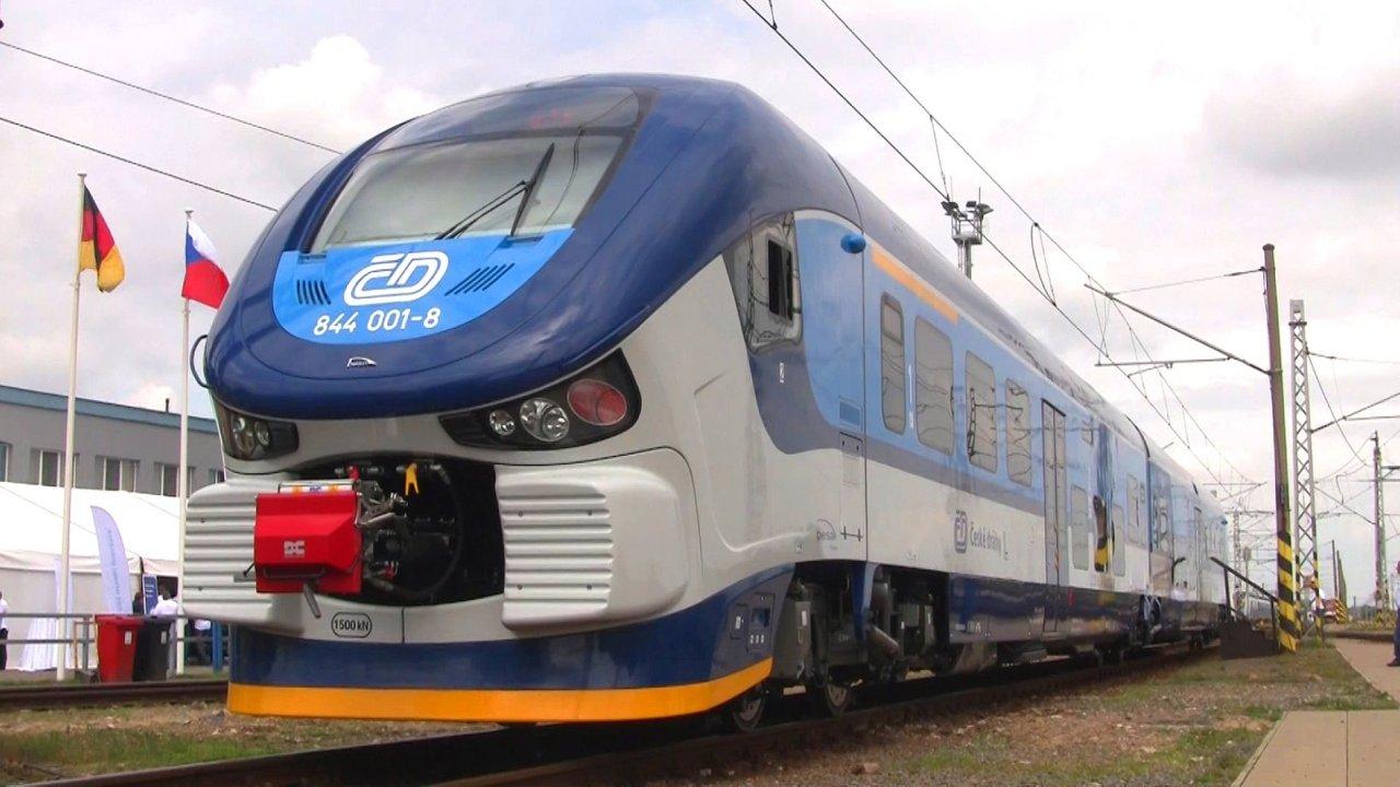 Vlak Českých drah RegioShark