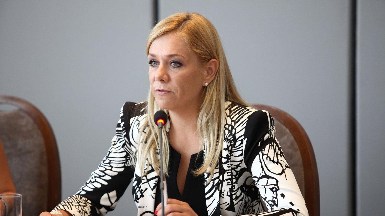 Nová slovenská ministryně vnitra Denisa Saková.