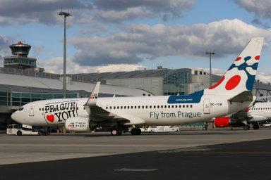Růst by měl pokračovat i letos, čímž se letiště ocitne za hranou své kapacity. Ilustrační foto.