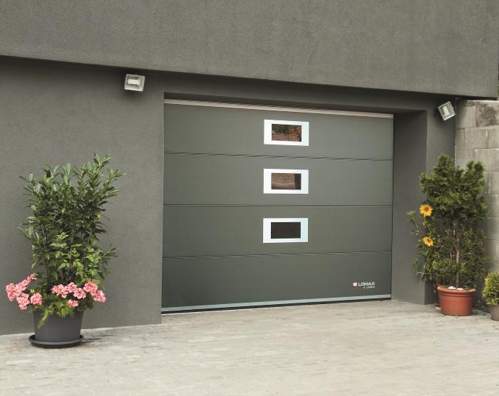 Dokonale vyladěná garážová vrata LOMAX Excellent