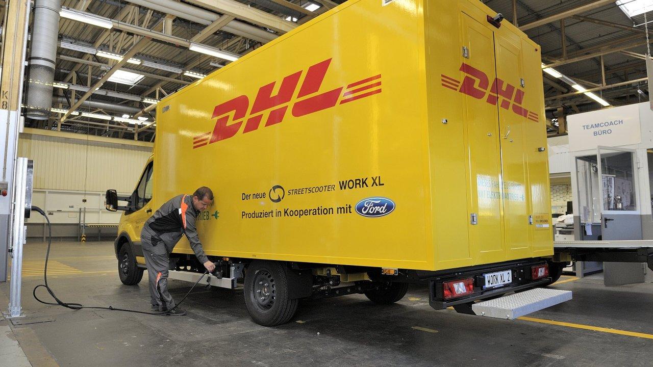 Ford vyrábí pro DP DHL jeho největší nákladní elektrovozy StreetScooter.