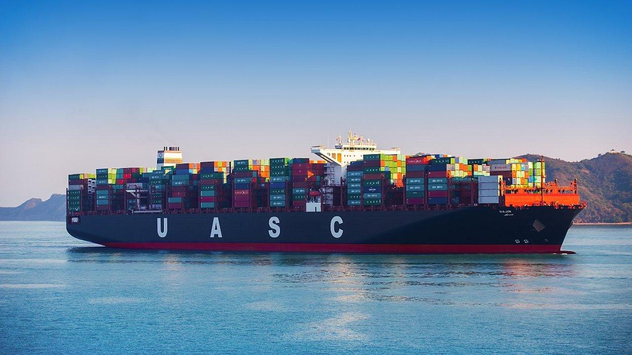 Kontejnerová loď Sajir