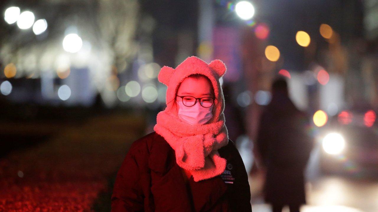 Peking čína rouška