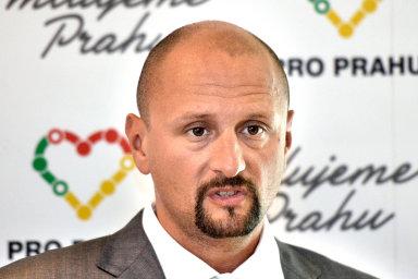 Hnutí Pro Prahu vzniklo před volbami vroce 2014 ajeho volebním lídrem byl Zbyněk Passer (na snímku), bratr developera Radima Passera, který se podílel na financování hnutí.