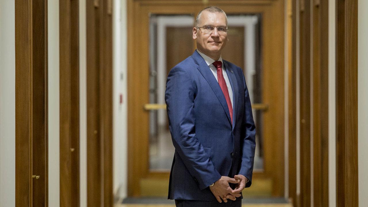 Viceguvernér ČNB Marek Mora