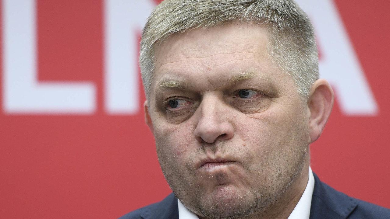 Předsedovi Směru Robertu Ficovi nebylo po slovenských volbách do zpěvu. Bylo jasné, že jeho éra skončila.