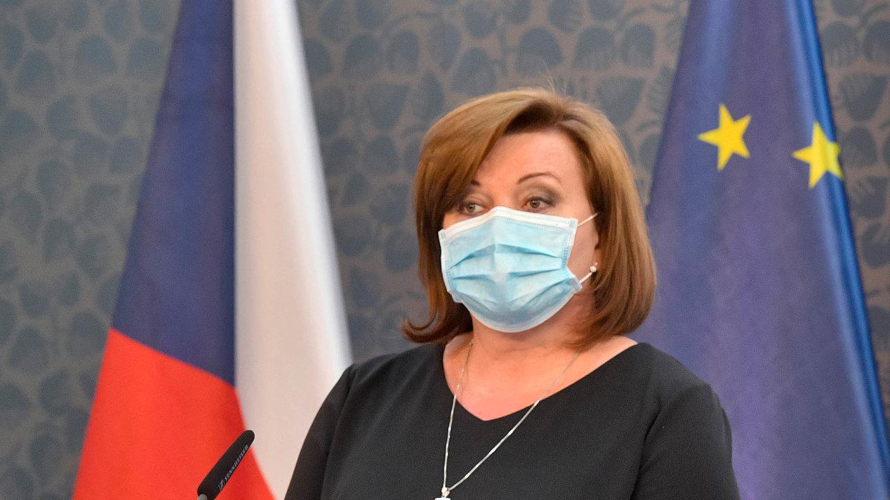 Ministryně financí Alena Schillerová už ví, že bude u nejvyššího schodku v historii Česka.