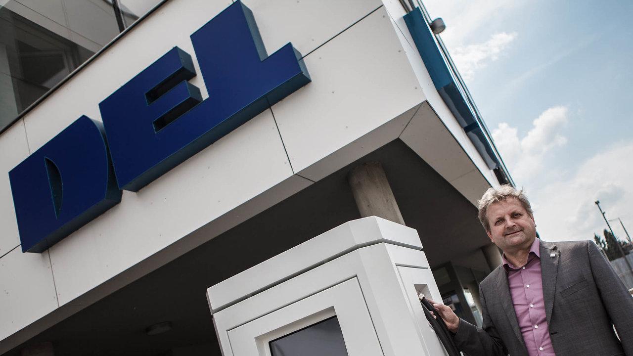 Pro elektromobily. DEL je první českou firmou, která vyvinula vlastní elektrodobíječky. Hlavní byznys je pro ni ale průmyslová automatizace.