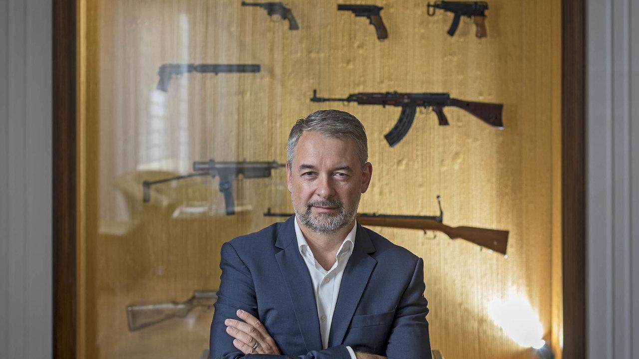 Lubomír Kovařík, prezident a předseda představenstva České zbrojovky