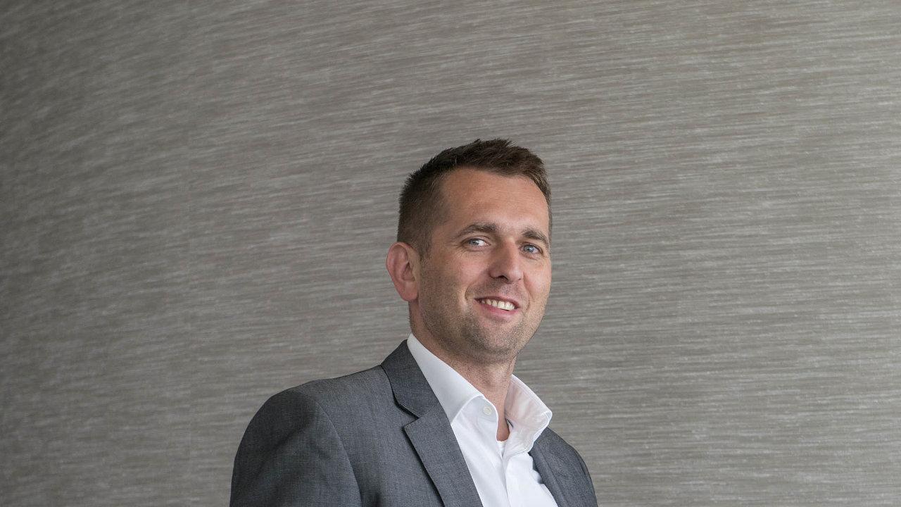 Rudolf Urbánek, šéf česko-slovenské pobočky Microsoftu.