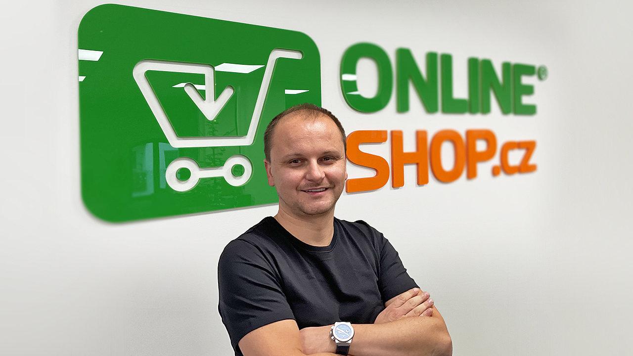 Martin Dvorský, zakladatel Onlineshop.cz.