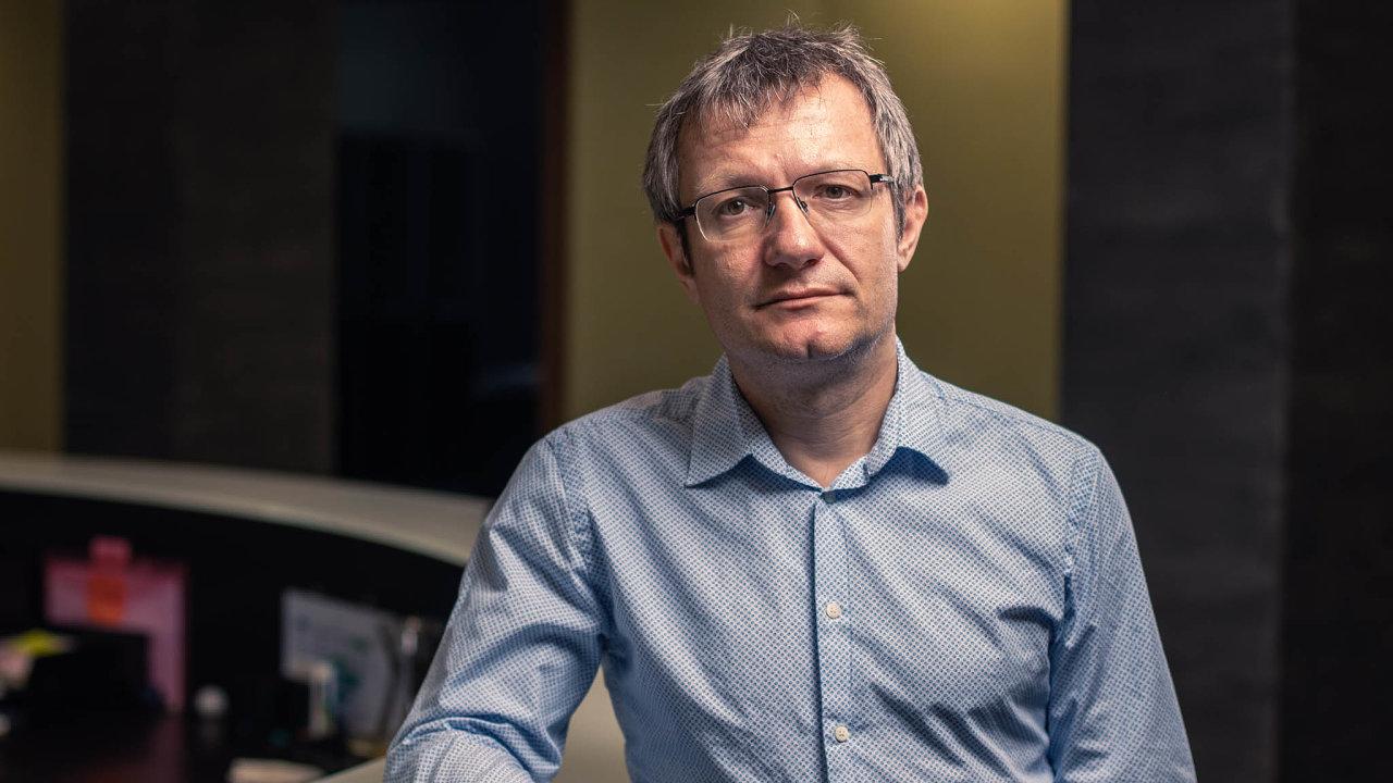 Jeden z velkých zástupců věřitelů. Hlavní majitel brněnského IFIS Marek Indra tvrdí, že jeho fond zastupuje stovky věřitelů Arcy spohledávkami zavíce než dvě miliardy korun.