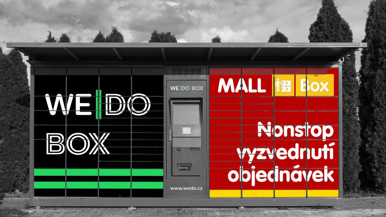Jeden výdejní box obsahuje 70 až 90 schránek na zboží. WeDo do budoucnosti nevylučuje ani provozování specializovaných přihrádek pro výdej potravin.