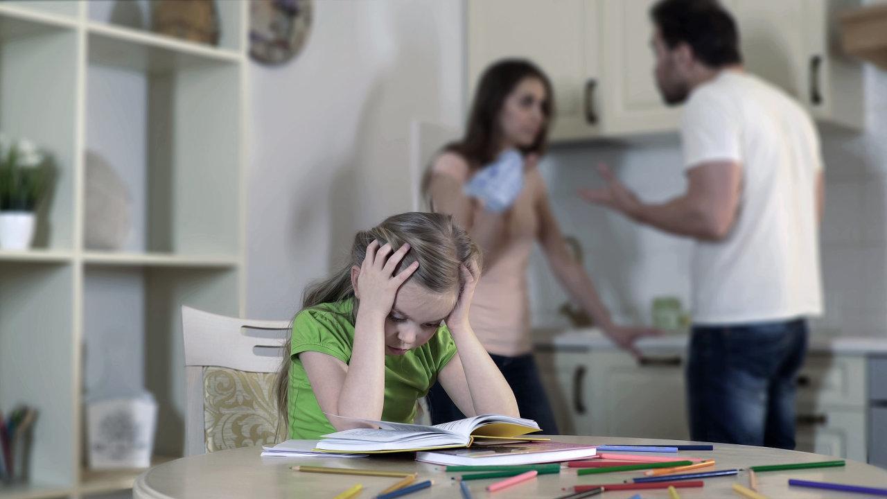 rodina, dítě, rozvod