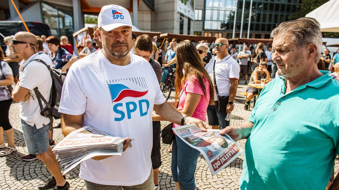Český jarmark SPD