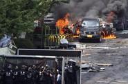 Komando zasáhlo proti rebelujícím dělníkům v jihokorejské továrně.