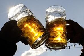 Pivní sklenice - ilustrační foto