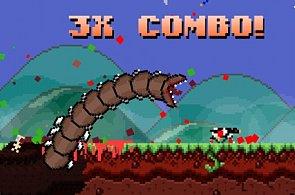 Herní tip: Super Mega Worm se vrací ke kořenům a žere malé děti