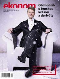 Václav Dejčmar na titulní straně Ekonomu č. 5/2013