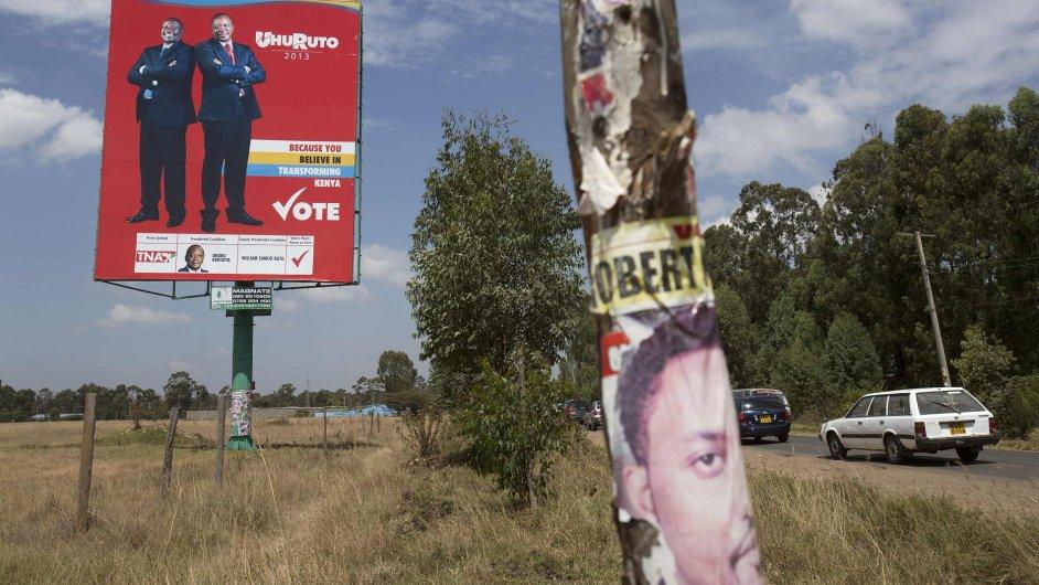 Předvolební kampaň Uhuru Kenyatty