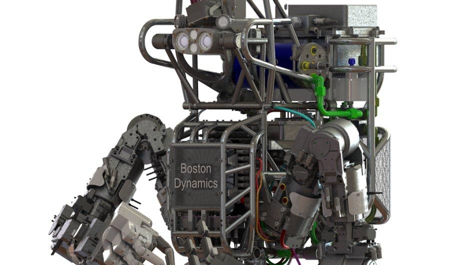 Robot Atlas vyvíjený americkou agenturou DARPA