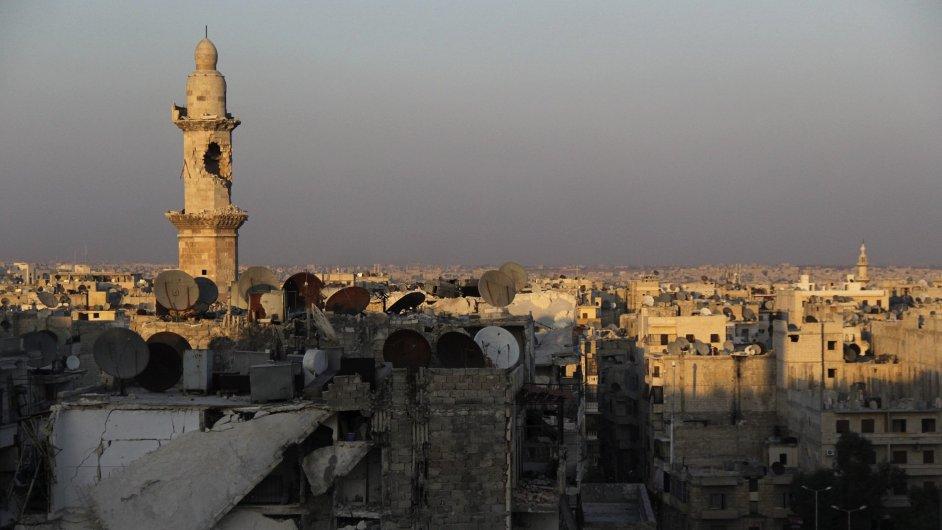 Aleppo v Sýrii, ilustrační foto
