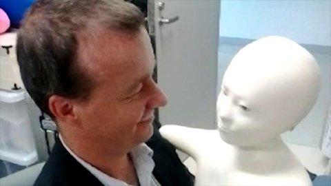 Petr Honzejk a robot