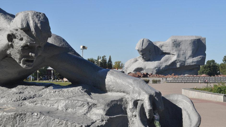 Hlavní památník pevnosti v Brestu