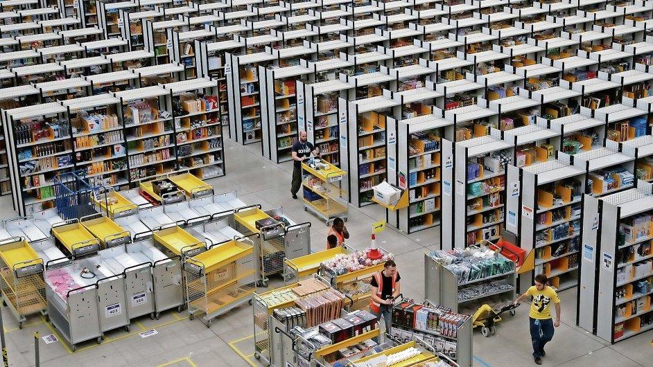 Logistické centrum Amazon/Ilustrační foto