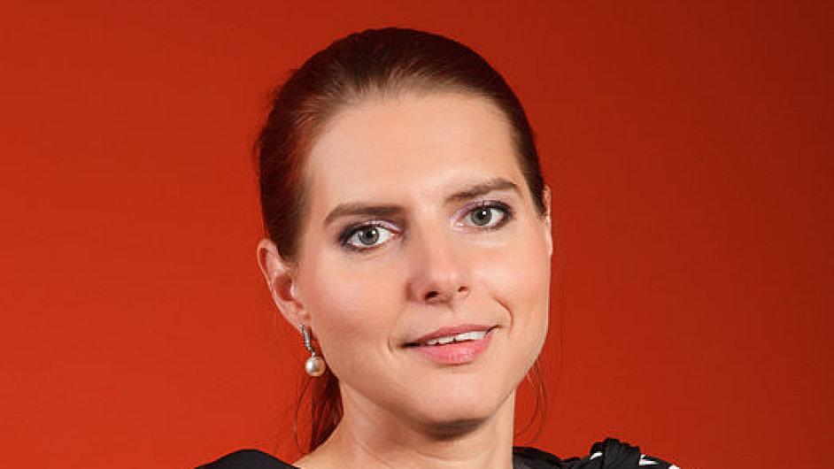 Lucie Ponertová, ředitelka úseku underwritingu pojišťovny Slavia