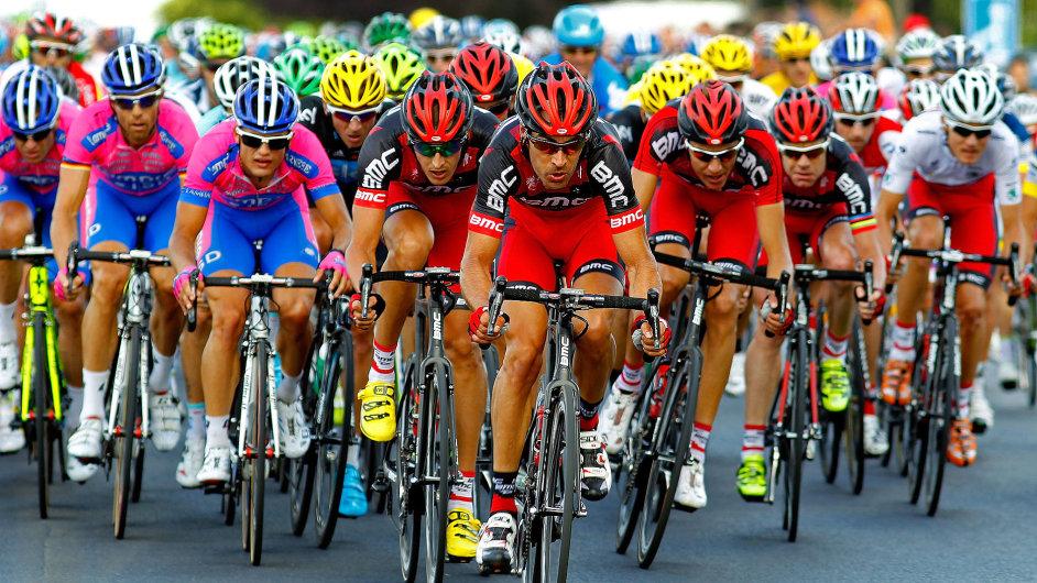 Tour de France - ilustrační obrázek