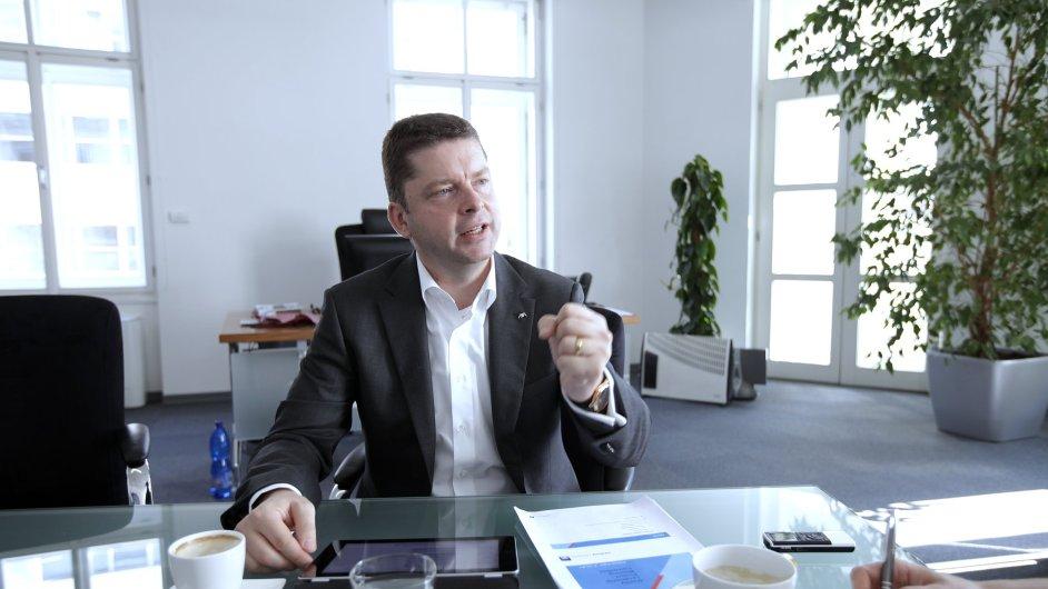 Martin Vogl, generální ředitel AXA pro ČR a SR
