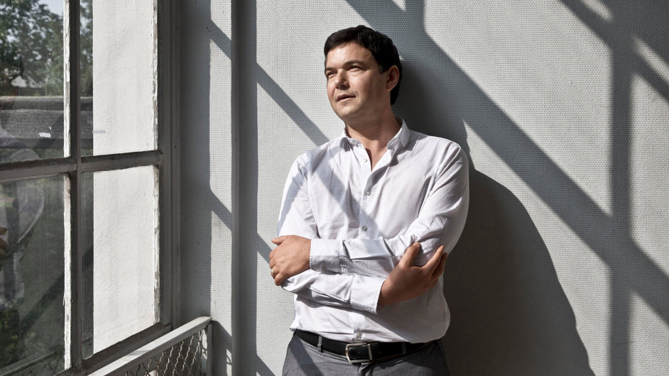 Francouzský ekonom Thomas Piketty