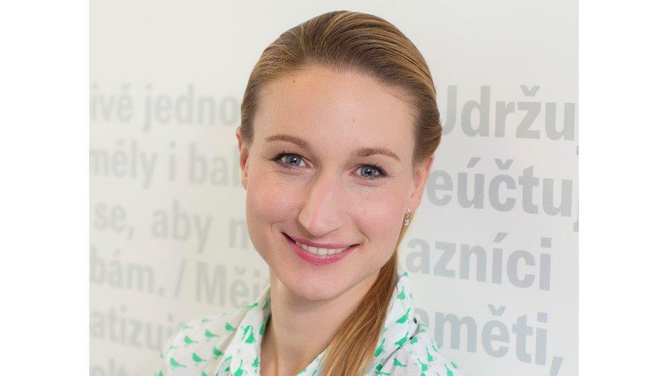 Karolina Šrámková, ředitelka oddělení Péče o zaměstnance a členka nejvyššího vedení Air Bank
