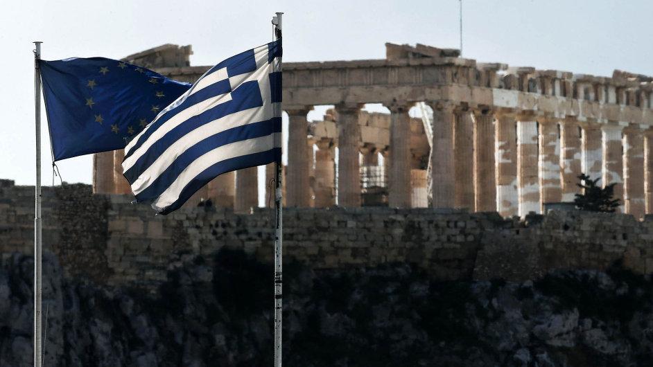 Řecko a EU (ilustrační foto).