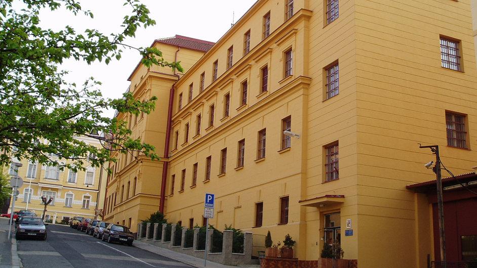 Vazební věznice v Litoměřicích. HN se včera podařilo získat snímky z litoměřické vazební věznice. Její historie je již více než stoletá. Na snímku vidíte budovu z ulice.