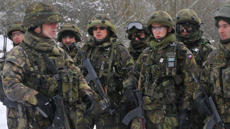 Zhruba polovina českých vojáků by podpořila politickou stranu, která nabídne radikální řešení romské otázky - Ilustrační foto.