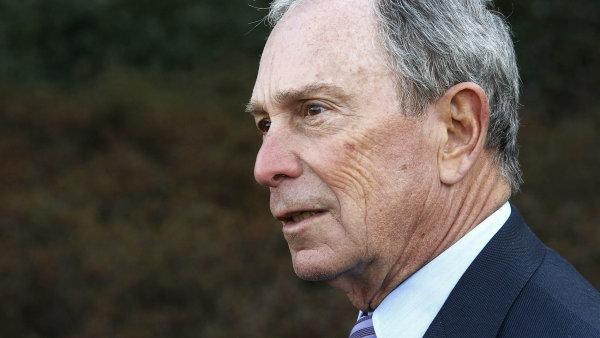 Michael Bloomberg nakonec kandidovat nebude.